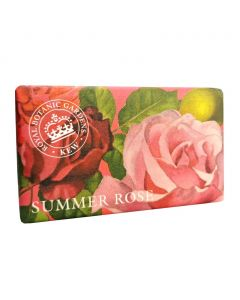 The English Soap Company Kew Gardens Summer Rose Soap Bar