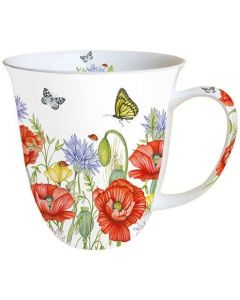 Summertime White  0.4L Bone China Mug - Ambiente Mug