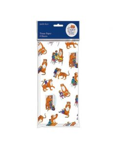 Museums and Galleries The Tiger Who Came To Tea Tissue Paper