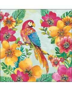 Ambiente Paper Napkins 3-ply Lunch Tropical Parrot