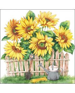 Ambiente Paper Napkins 3-ply Lunch Garden Of Sunflowers