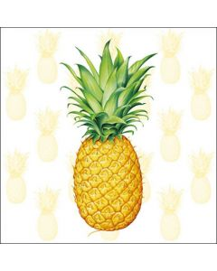 Ambiente Paper Napkins 3-ply Lunch Tropical Fruit Pineapple