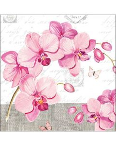Ambiente Paper Napkins 3-ply Lunch Orchids With Love