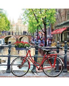 Ambiente Paper Napkins Amsterdam Canal