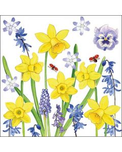 Ambiente Paper Napkins 3-ply Lunch Narcissus Love