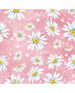 Paper Napkins for Decoupage, 4 Single Lunch Size Paper Napkins, Daisies Rose