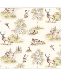 Ambiente Paper Napkins 3-ply Lunch Woodland Deer