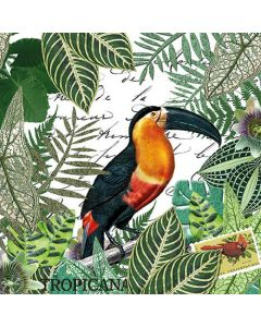 Ambiente Paper Napkins 3-ply Lunch Tropicana