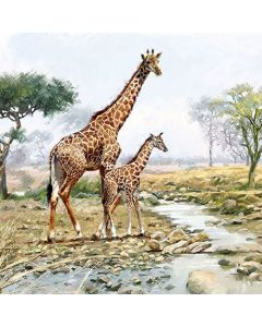 Ambiente Paper Napkins 3-ply Lunch Giraffes