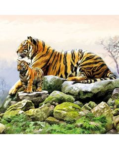 Ambiente Paper Napkins 3-ply Lunch Tigers
