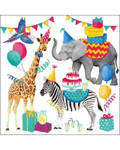 Ambiente Paper Napkins Animal Birthday Party