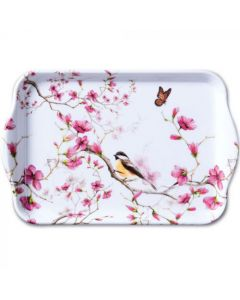 Ambiente Melamine Scatter Tray Bird and Blossom