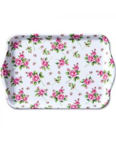 Ambiente Melamine Scatter Tray Evelyn White