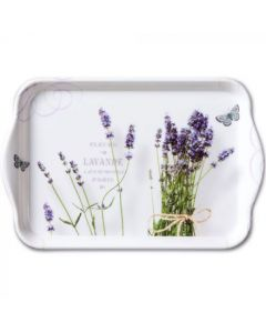 Ambiente Melamine Scatter Tray Bunch Of Violets Green
