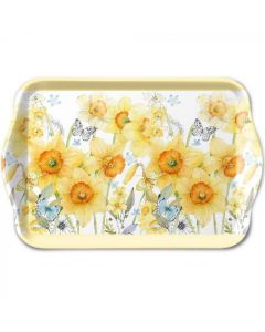 Ambiente Melamine Scatter Tray Classic Daffodil