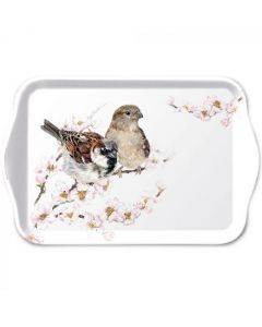 Ambiente Melamine Scatter Tray Sparrow Blossom