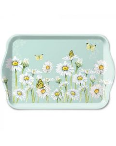 Ambiente Melamine Scatter Tray Daisy Green