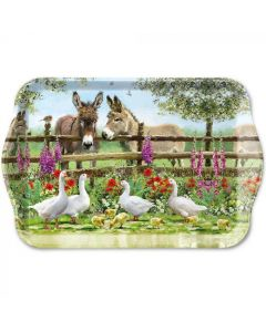 Ambiente Melamine Scatter Tray Meeting Point