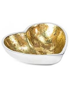 Globe Home Recycled Aluminium Bowl Small Heart