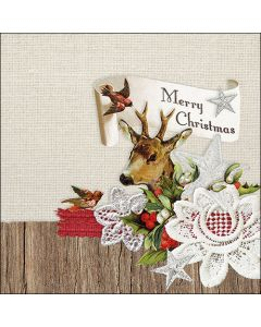 Ambiente Paper Napkins 3-ply Lunch Xmas Deer