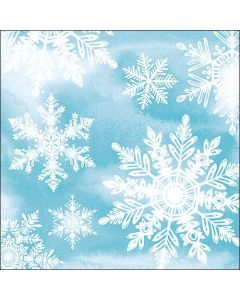 Crystals Blue - 4 Napkins for Decoupage