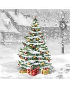 Ambiente Paper Napkins 3-ply Lunch Tree On Square