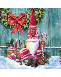 Ambiente Paper Napkins 3-ply Lunch Xmas Gnome