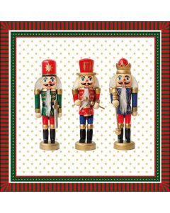 Ambiente Paper Napkins 3-ply Lunch Three Nutcrackers