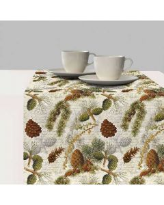 ,Table Runner - Life In Forest - Ambiente