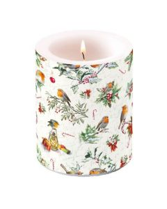 Ambiente Pillar Candle Christmas Ornaments