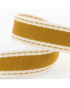 Italian Options Cotton Twill Ribbon Gold (Old Gold)