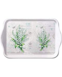 Ambiente Melamine Scatter Tray Lily of the Valley