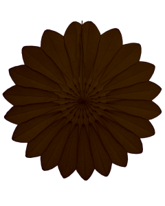 Tigers on the Loose Paper Decoration, 67cm Paper Fan Brown 002