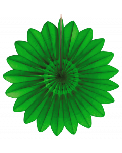 Tigers on the Loose Paper Decoration, 67cm Paper Fan Light Green 012