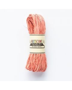 Nutscene  -  Raffia Hank 50gm - Burnt Coral