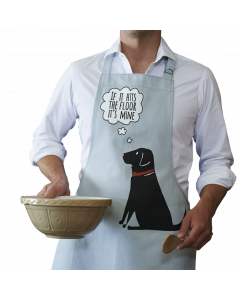 Black Labrador  - Sweet William Apron