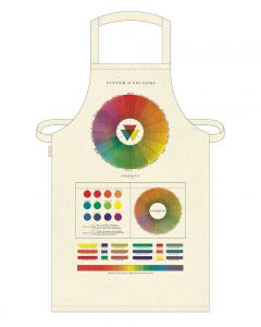 Cavallini Vintage Apron Colour Wheel
