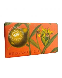 The English Soap Company Kew Gardens  Bergamot and Ginger Soap Bar