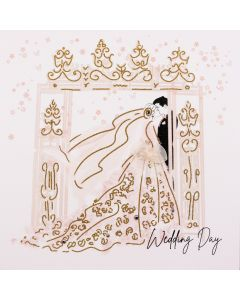 Five Dollar Shake Wedding Day - #BG30 Wedding Card