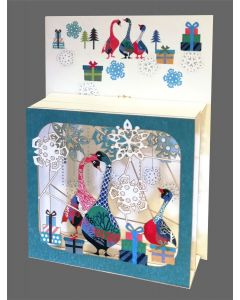 Forever Cards Magic Box Christmas Card Christmas Geese