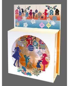 Forever Cards Magic Box Christmas Card Children Playing