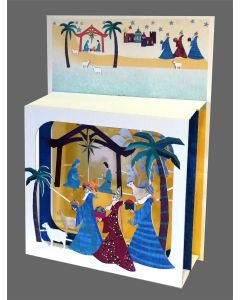Forever Cards Magic Box Christmas Card Nativity