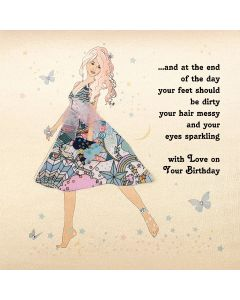 Five Dollar Shake Birthday Card With Love on Your Birthday - Balloons