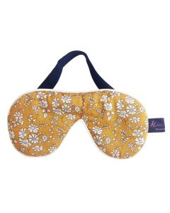 Alice Caroline Eye Mask Capel Mustard