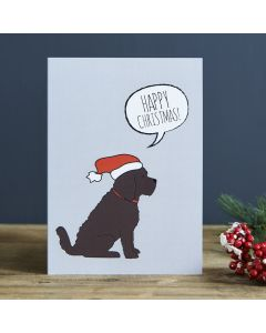 Sweet William Christmas Card Cockapoo
