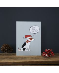 Sweet William Christmas Card Jack Russell