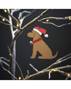 Golden Cocker Spaniel - Sweet William Christmas Decoration