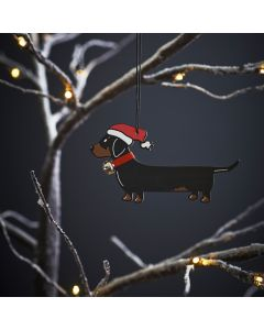 Dachshund - Sweet William Christmas Decoration