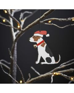 Jack Russel - Sweet William Christmas Decoration