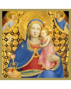 The Madonna of Humility  #CMHX401- Pack of 5 Cards